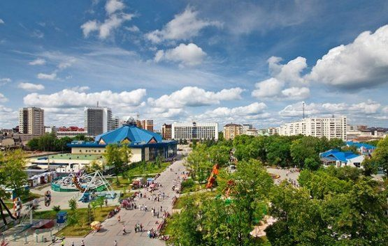 Tyumen is Gate to Siberia