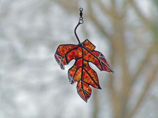 "Excursion ""Glass Autumn Leaf"""