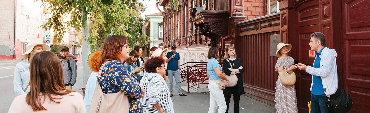 """Carved Fairy-Tale of Tyumen"" Walking Tour"