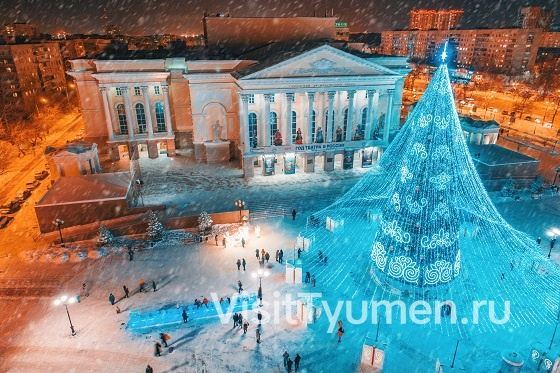 400th anniversary of Tyumen Square